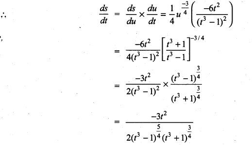 Samacheer Kalvi 11th Maths Solutions Chapter 10 Differentiability and Methods of Differentiation Ex 10.3 15