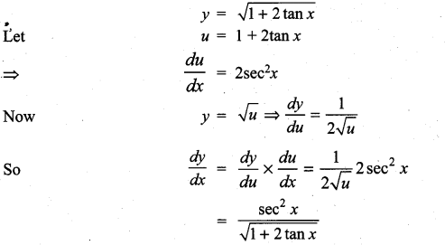 Samacheer Kalvi 11th Maths Solutions Chapter 10 Differentiability and Methods of Differentiation Ex 10.3 21