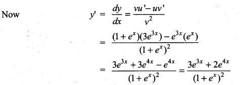 Samacheer Kalvi 11th Maths Solutions Chapter 10 Differentiability and Methods of Differentiation Ex 10.3 24