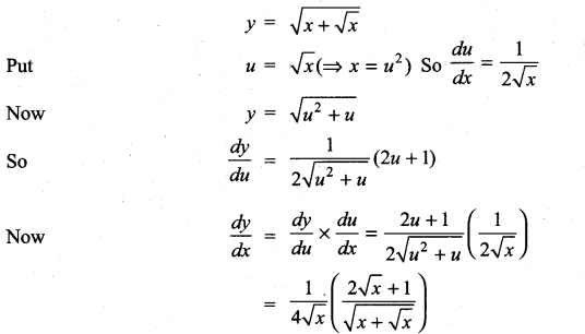 Samacheer Kalvi 11th Maths Solutions Chapter 10 Differentiability and Methods of Differentiation Ex 10.3 26