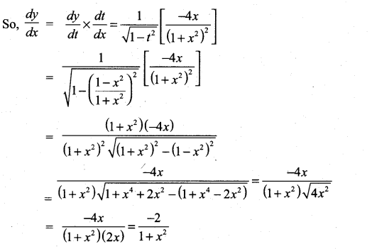 Samacheer Kalvi 11th Maths Solutions Chapter 10 Differentiability and Methods of Differentiation Ex 10.3 32