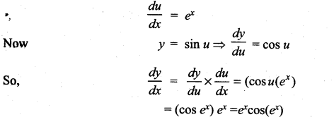 Samacheer Kalvi 11th Maths Solutions Chapter 10 Differentiability and Methods of Differentiation Ex 10.3 4