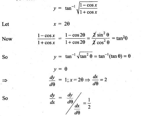 Samacheer Kalvi 11th Maths Solutions Chapter 10 Differentiability and Methods of Differentiation Ex 10.4 14