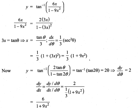Samacheer Kalvi 11th Maths Solutions Chapter 10 Differentiability and Methods of Differentiation Ex 10.4 15