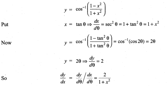 Samacheer Kalvi 11th Maths Solutions Chapter 10 Differentiability and Methods of Differentiation Ex 10.4 21