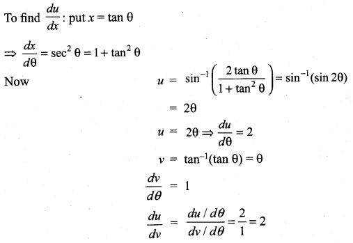 Samacheer Kalvi 11th Maths Solutions Chapter 10 Differentiability and Methods of Differentiation Ex 10.4 25