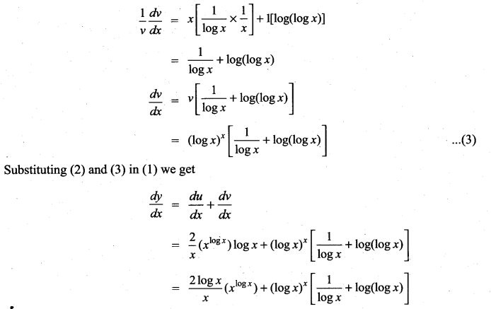 Samacheer Kalvi 11th Maths Solutions Chapter 10 Differentiability and Methods of Differentiation Ex 10.4 3