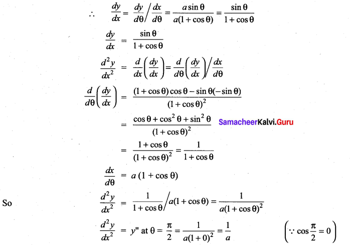 Samacheer Kalvi 11th Maths Solutions Chapter 10 Differentiability and Methods of Differentiation Ex 10.4 36