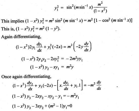 Samacheer Kalvi 11th Maths Solutions Chapter 10 Differentiability and Methods of Differentiation Ex 10.4 40