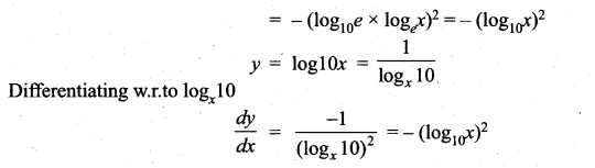 Samacheer Kalvi 11th Maths Solutions Chapter 10 Differentiability and Methods of Differentiation Ex 10.5 14