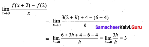 Samacheer Kalvi 11th Maths Solutions Chapter 10 Differentiability and Methods of Differentiation Ex 10.5 19
