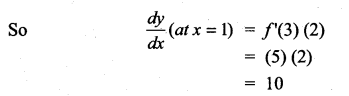 Samacheer Kalvi 11th Maths Solutions Chapter 10 Differentiability and Methods of Differentiation Ex 10.5 4