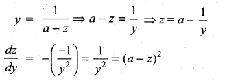 Samacheer Kalvi 11th Maths Solutions Chapter 10 Differentiability and Methods of Differentiation Ex 10.5 7