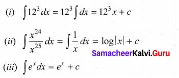 Samacheer Kalvi 11th Maths Solutions Chapter 11 Integral Calculus Ex 11.1 3