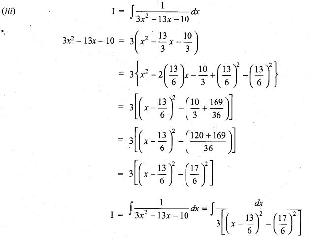 Samacheer Kalvi 11th Maths Solutions Chapter 11 Integral Calculus Ex 11.10 15