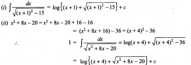 Samacheer Kalvi 11th Maths Solutions Chapter 11 Integral Calculus Ex 11.10 18