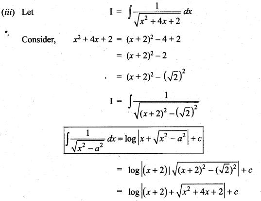 Samacheer Kalvi 11th Maths Solutions Chapter 11 Integral Calculus Ex 11.10 5