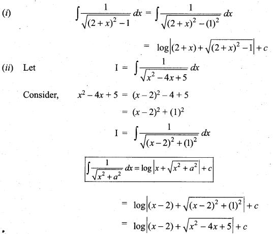Samacheer Kalvi 11th Maths Solutions Chapter 11 Integral Calculus Ex 11.10 7