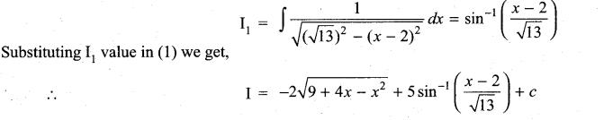Samacheer Kalvi 11th Maths Solutions Chapter 11 Integral Calculus Ex 11.11 11