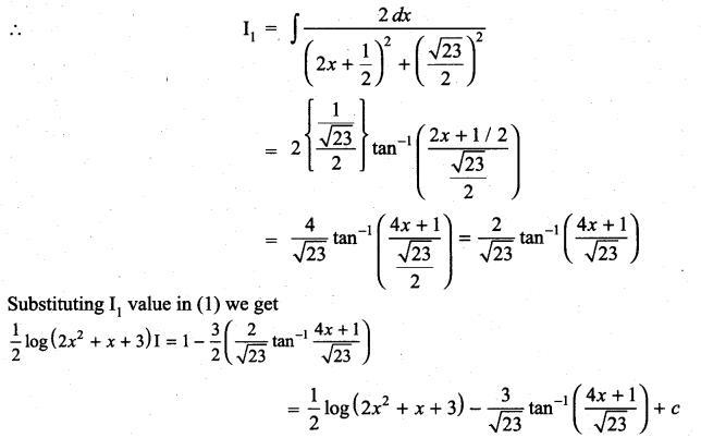 Samacheer Kalvi 11th Maths Solutions Chapter 11 Integral Calculus Ex 11.11 17