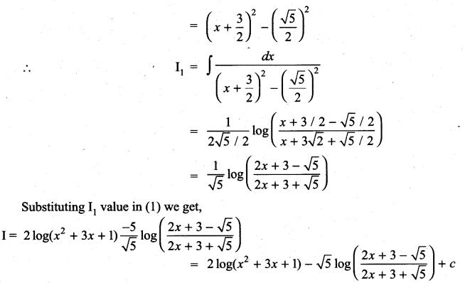Samacheer Kalvi 11th Maths Solutions Chapter 11 Integral Calculus Ex 11.11 19