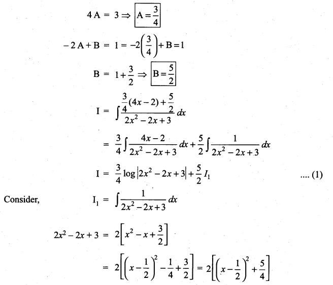 Samacheer Kalvi 11th Maths Solutions Chapter 11 Integral Calculus Ex 11.11 6