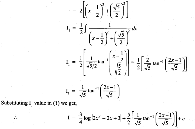 Samacheer Kalvi 11th Maths Solutions Chapter 11 Integral Calculus Ex 11.11 7