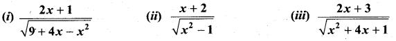 Samacheer Kalvi 11th Maths Solutions Chapter 11 Integral Calculus Ex 11.11 9