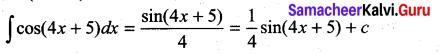 Samacheer Kalvi 11th Maths Solutions Chapter 11 Integral Calculus Ex 11.2 10