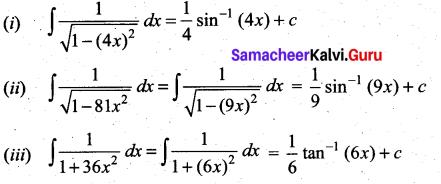 Samacheer Kalvi 11th Maths Solutions Chapter 11 Integral Calculus Ex 11.2 6