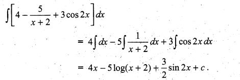 Samacheer Kalvi 11th Maths Solutions Chapter 11 Integral Calculus Ex 11.3 10