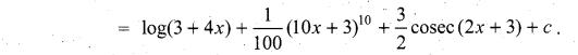 Samacheer Kalvi 11th Maths Solutions Chapter 11 Integral Calculus Ex 11.3 13