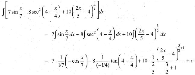 Samacheer Kalvi 11th Maths Solutions Chapter 11 Integral Calculus Ex 11.3 16