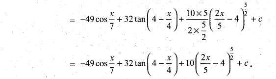 Samacheer Kalvi 11th Maths Solutions Chapter 11 Integral Calculus Ex 11.3 17