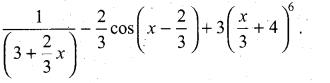 Samacheer Kalvi 11th Maths Solutions Chapter 11 Integral Calculus Ex 11.3 18