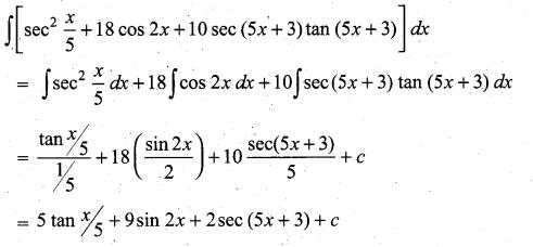 Samacheer Kalvi 11th Maths Solutions Chapter 11 Integral Calculus Ex 11.3 3
