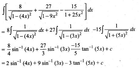 Samacheer Kalvi 11th Maths Solutions Chapter 11 Integral Calculus Ex 11.3 4