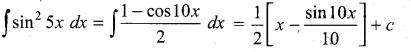 Samacheer Kalvi 11th Maths Solutions Chapter 11 Integral Calculus Ex 11.5 11