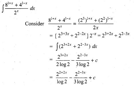 Samacheer Kalvi 11th Maths Solutions Chapter 11 Integral Calculus Ex 11.5 16