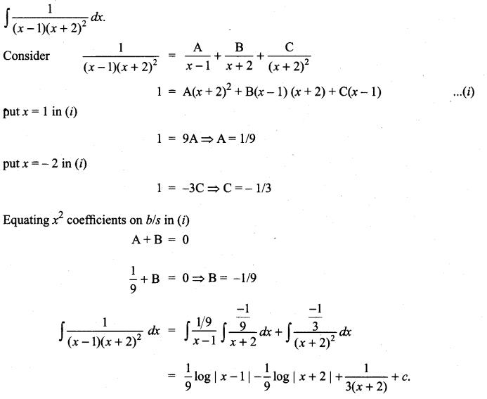 Samacheer Kalvi 11th Maths Solutions Chapter 11 Integral Calculus Ex 11.5 20