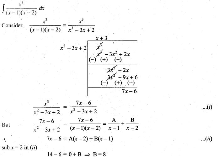 Samacheer Kalvi 11th Maths Solutions Chapter 11 Integral Calculus Ex 11.5 23