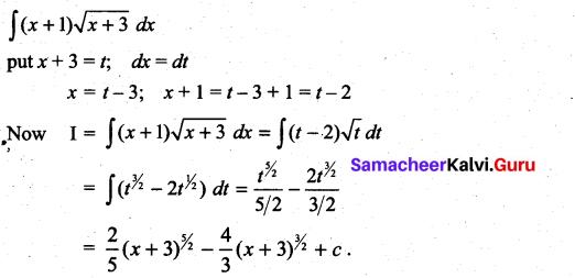 Samacheer Kalvi 11th Maths Solutions Chapter 11 Integral Calculus Ex 11.5 31