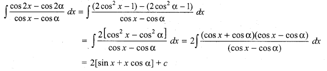 Samacheer Kalvi 11th Maths Solutions Chapter 11 Integral Calculus Ex 11.5 5