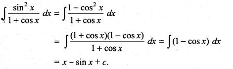 Samacheer Kalvi 11th Maths Solutions Chapter 11 Integral Calculus Ex 11.5 8