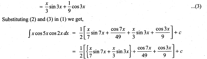 Samacheer Kalvi 11th Maths Solutions Chapter 11 Integral Calculus Ex 11.7 14