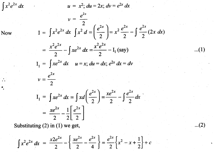 Samacheer Kalvi 11th Maths Solutions Chapter 11 Integral Calculus Ex 11.7 15