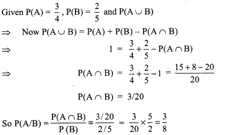 Samacheer Kalvi 11th Maths Solutions Chapter 12 Introduction to Probability Theory Ex 12.3 2