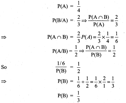 Samacheer Kalvi 11th Maths Solutions Chapter 12 Introduction to Probability Theory Ex 12.5 29