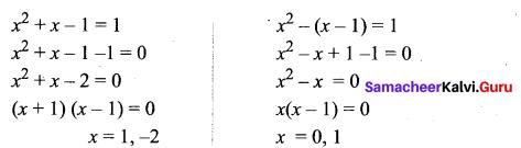 Samacheer Kalvi 11th Maths Solutions Chapter 2 Basic Algebra Ex 2.13 15
