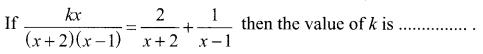 Samacheer Kalvi 11th Maths Solutions Chapter 2 Basic Algebra Ex 2.13 20